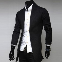 Hot Autumn Winter Men Cardigan Sweaters Casual Cotton