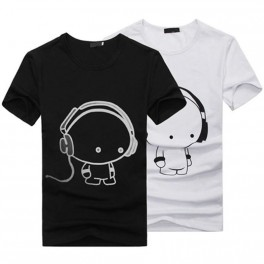 Headphone cartoon T-Shirt